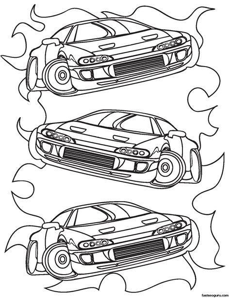 Race Car Coloring Pages Free Coloring Home Race Car Coloring Pages