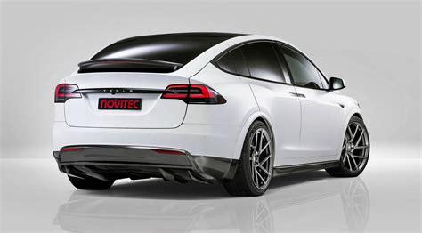 Pictures Of Tesla Model X Official Novitec Tesla Model X Gtspirit