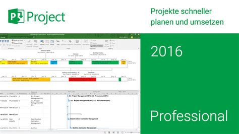 project professional microsoft project professional 2016 logiway