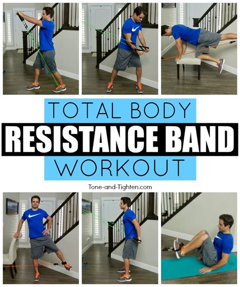 resistance band tone and tighten
