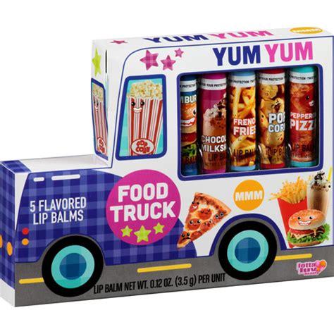 Food Balm lotta food truck flavored lip balms 0 12 oz 5 count walmart