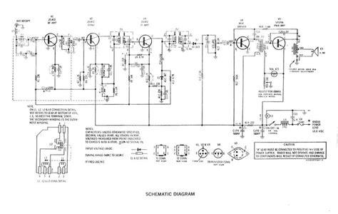 transistor radio schematic diagram i wan the schematic of