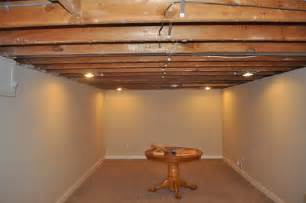 exposed basement ceiling carri us home painting a basement ceiling
