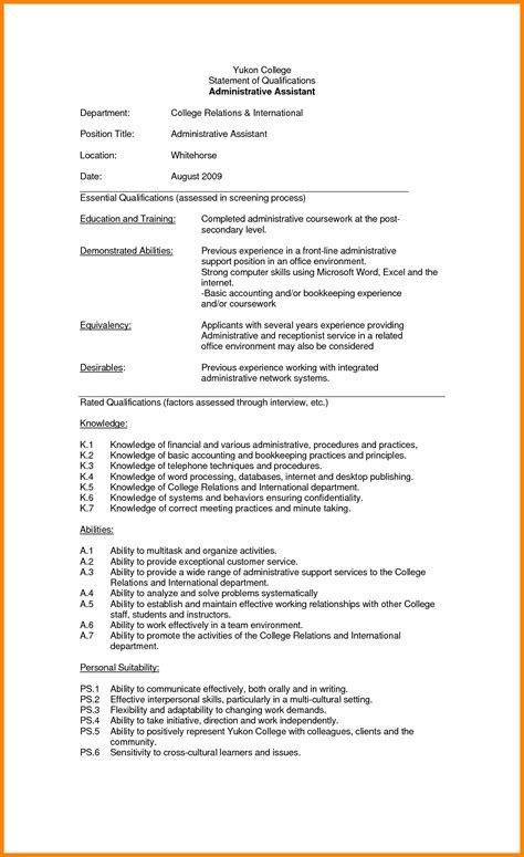 Excelsior College Letter Of Qualification pre qualification letter for mortgage template help