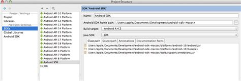 android sdk location android studio how to change android sdk path stack overflow