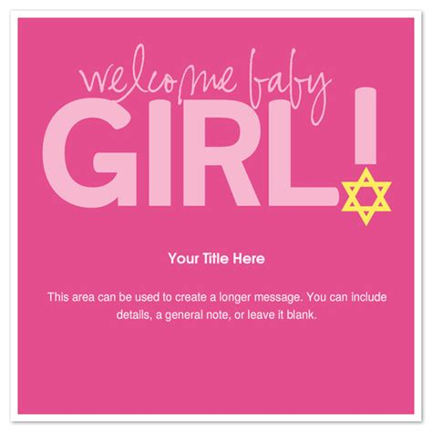 Welcome Baby Girl Invitations Cards On Pingg Com Welcome Invitation Template