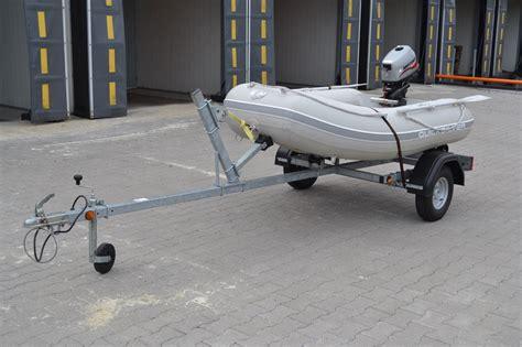 rubberboot quicksilver op trailer met 4 pk bu - Rubberboot Op Trailer