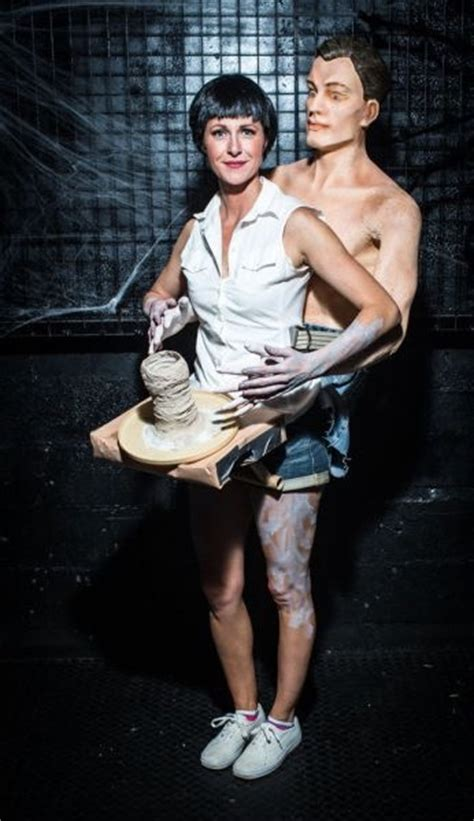ghost film pottery scene youtube patrick swayze and demi moore ghost pottery scene costume