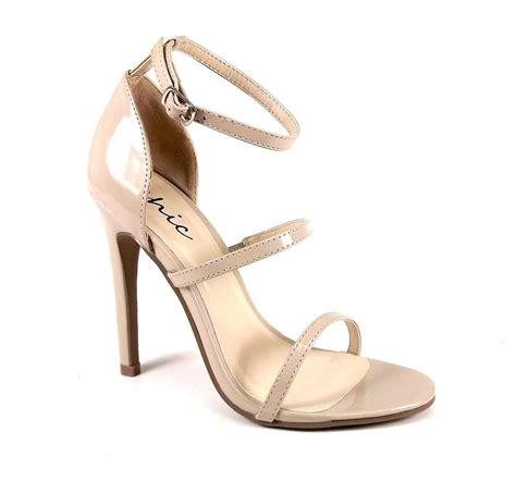 strappy high heels womens ankle strappy high heels stiletto evening