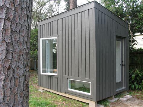 backyard studio s micro backyard studio with floor planter