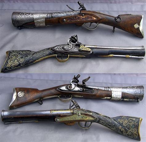 Armée Ottomane by Ottoman Flintlock Blunderbuss Smooth Bore Gun With A