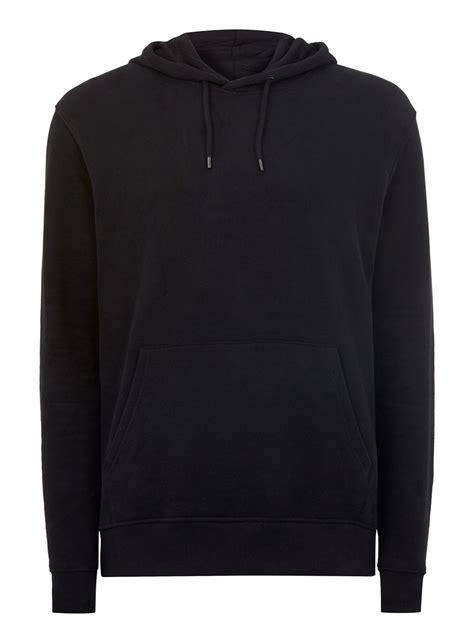 black hoodie classic black hoodie topman usa