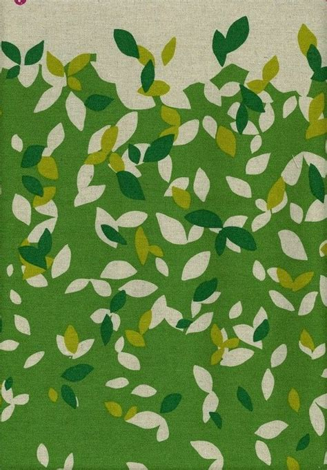 Pattern For Fabric Leaves | green leaves pattern fabric only patterns pinterest