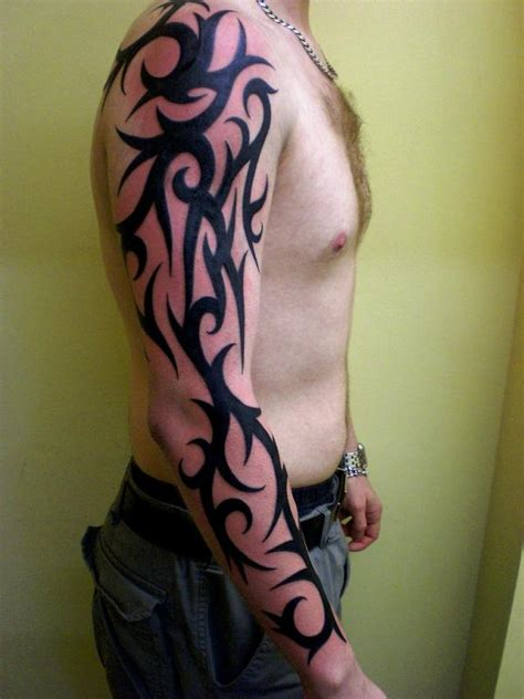 custom tattoo designs for men sleeve and arm tribal tattoos for tattoos