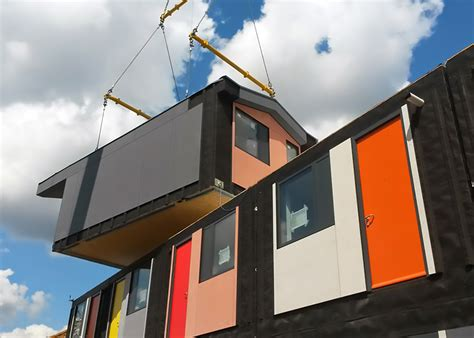housing for homeless y cube affordable colorful and humane housing for london s homeless inhabitat