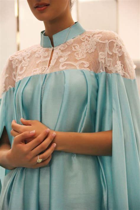 Dress Ivana Inner blue abaya an idea for wedding apparel