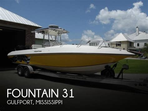 boat dealers gulfport ms sold fountain 31 boat in gulfport ms 107280