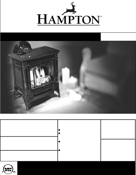Fireplace Products International by Hton Direct Indoor Fireplace H25 Lp1 Propane User Guide