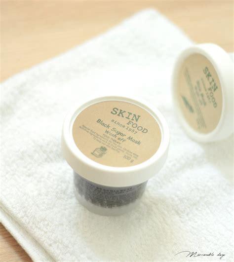 Skinfood Intensive Rice Moisture Shea Butter Wash review skinfood black sugar wash mask memorable days korean