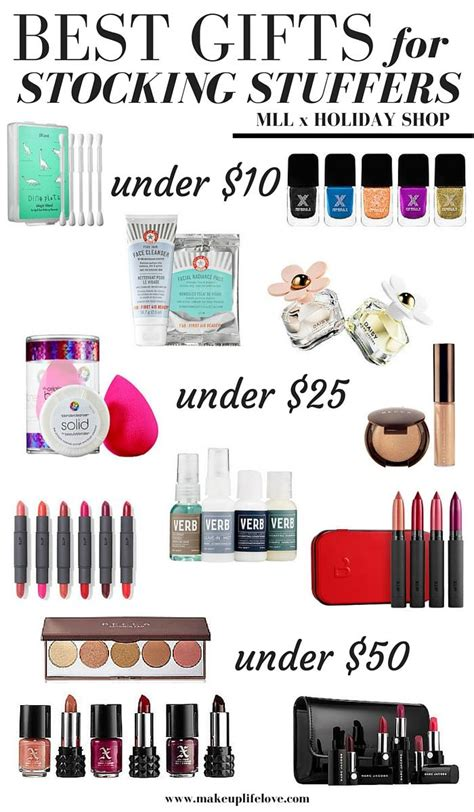 best stocking stuffers holiday gift guides stocking stuffers makeup life and love