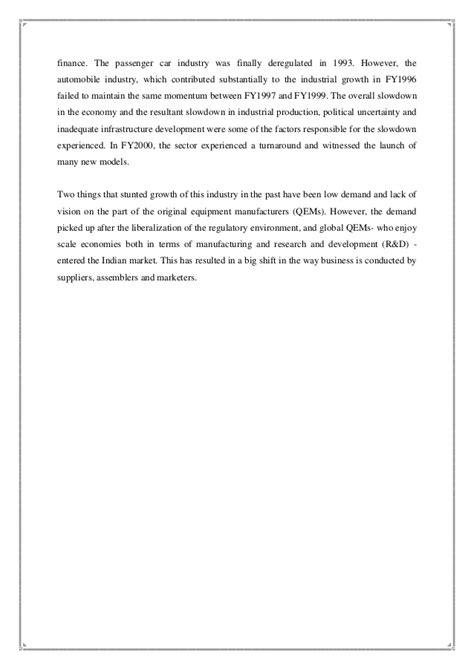 Project On Maruti Suzuki Project Ms S Crm Of Maruti Suzuki