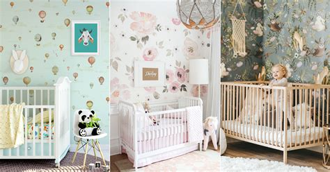 baby nursery wall decor  lovely nursery room wallpapers