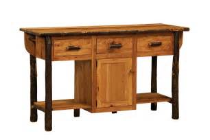 amish furniture kitchen island solid hickory wood american made furniture kitchen island
