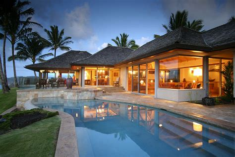 luxury homes for rent in hawaii kauai luxury homes house decor ideas