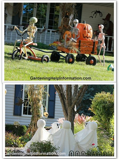Galerry halloween outdoor decorating ideas halloween lawn decorations house