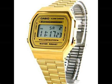 Casio Digital A500wga 9 Original Gold casio gold a168wg 9 real vs doovi