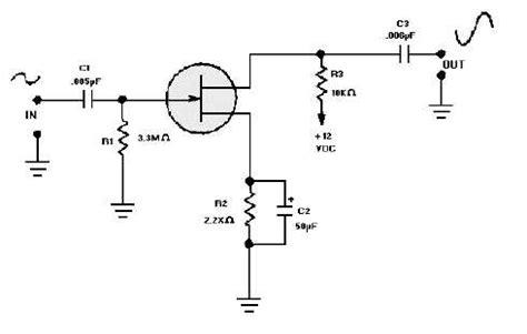 jfet transistor lifier figure 3 51 jfet common source lifier