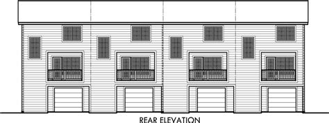4 unit multi family house plans quadplex house plans multi family house plans f 559