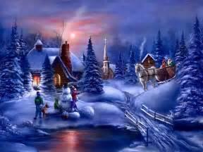 winter fun christmas winter scenes