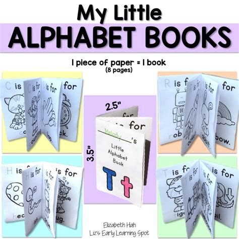 my alphabet book learning abc s alphabet a to z picture basic words book ages 2 7 for toddlers preschool kindergarten fundamentals series books my alphabet books liz s early learning spot