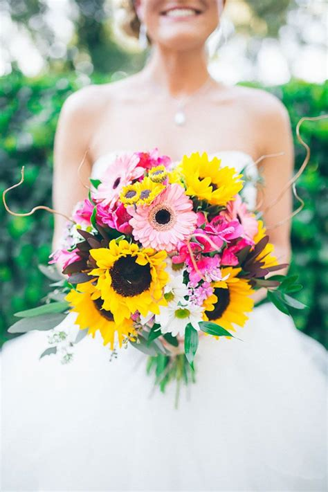 yellow and pink sunflowers flower 25 best ideas about sunflower bouquets on