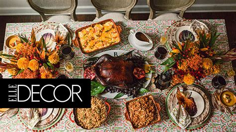 7 Gorgeous Thanksgiving Decor Items by 7 Beautiful Thanksgiving Tablescapes Decor