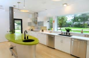 Kitchen window ideas blinds and curtains as kitchen