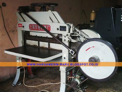 Mesin Potong Kertas Listrik harga mesin potong kertas dq201 bekas gt mesin murah