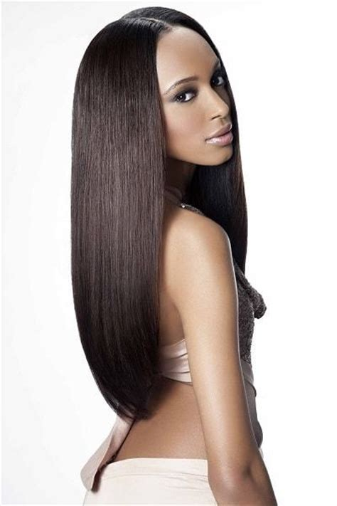 black hair weave part in the middle 20 exclusive weave hairstyle ideas for straight hair
