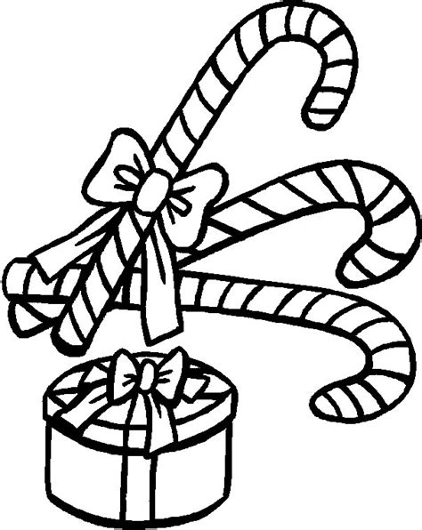 free coloring pages of candy cane