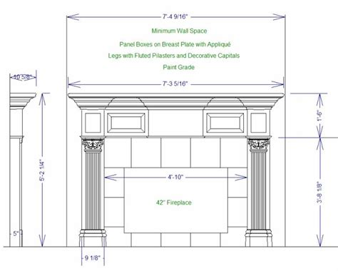 fireplace mantel plans august 2013 pdfplansforwood page 57