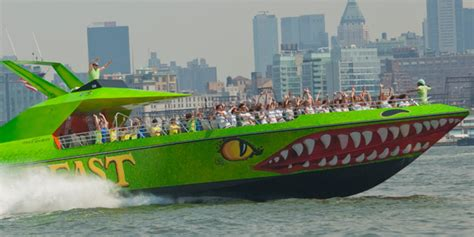 spanish boat ride nyc beast speedboat ride discounts save 15 25 guaranteed