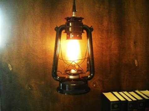 Electric Metal Lantern Black Or Red Industrial Pendant Light Electric Lights