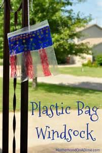 Plastic Bag Crafts For Kids - july 4th plastic bag windsock kids activities saving money home management motherhood on