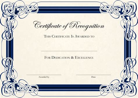 certificate of appreciation free template certificate of appreciation templates pdf word get