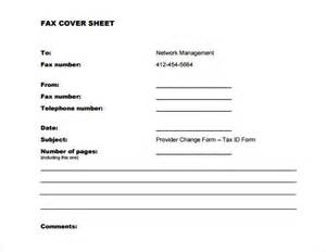 Resume Cover Sheet by Sle Fax Cover Sheet For Resume 7 Documents In Pdf Word