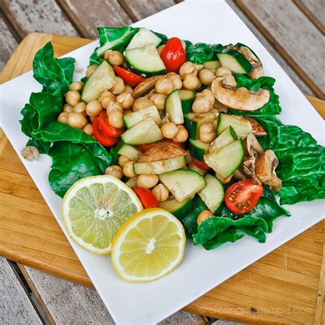 Nature S Own Big Green Egg Giveaway - chickpea and cucumber salad