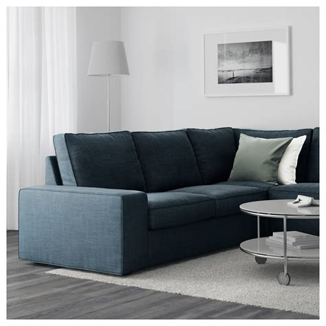 7 seat sectional sofa kivik u shaped sofa 7 seat hillared dark blue ikea