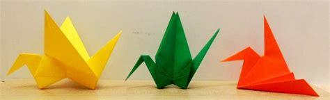 Origami Article - origami grues