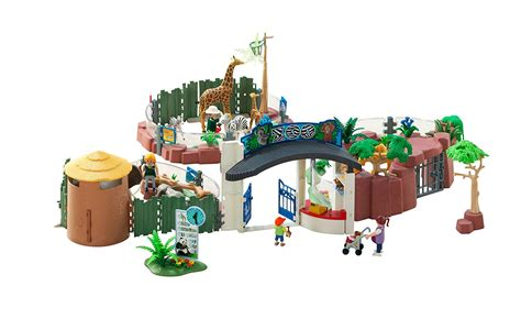 Playmobil Large Zoo With Entrance playmobil large zoo with entrance top toys of 2017